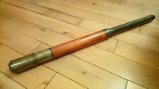 SUPERB Antique Victorian Dolland London Day or Night Telescope Wood Brass
