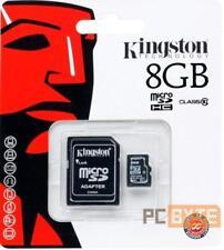 Kingston 8GB Class 10 microSDHC 45B/s Plus Adapter GENUINE KINGSTON
