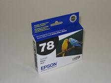 Epson OEM T0781 black ink 78 stylus R260 R280 R380 RX580 RX595 RX680 Artisan 50