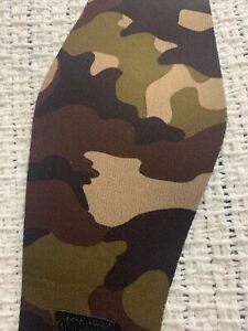 Large camo swimming headband