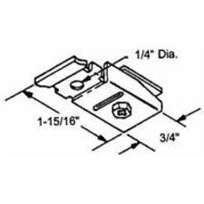 Slide-Co 16554 Bi-Fold Door Pivot Track Bracket