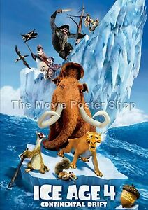 Ice Age Continental Drift    2012 Movie Posters Classic And Vintage Films