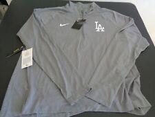 LOS ANGELES DODGERS Baseball NIKE Dri Fit Womens XXL 2XL Gray Shirt NEW FreeShip