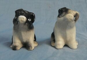Set Vintage Pig Salt & Pepper Shakers China