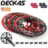 DECKAS MTB Bike 40T-52T Narrow Wide Chainring 104mm BCD Cycling Chain Ring Disc