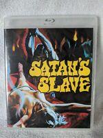 (Blu-ray) SATAN'S SLAVE (2019 Vinegar Syndrome) Michael Gough, Martin Potter
