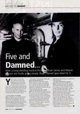 Mad For The Racket MC5 Wayne Kramer 'Guitarist' Interview Clipping