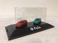 Herpa 1:87 VW Polo Geschenk Modellauto Modelcar Scale Model Sammeln Rarität