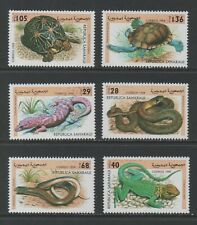 Thematic Stamps Animals - SAHARA 1998 REPTILES 6v mint