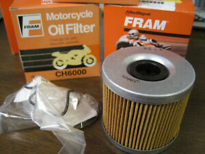 (4) 1977 - 2010 Suzuki GS 450 550 850  Fram Oil Filters CH6000 Lot