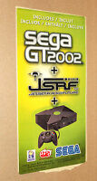 Old Xbox Sega GT 2002 promo Sticker very Rare
