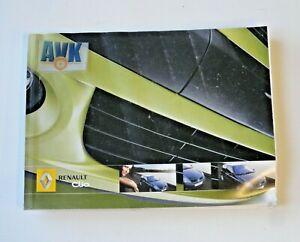 Bedienungsanleitung Betriebsanleitung 8200517234 Ausgabe 2005 Renault Clio II
