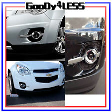 For 10-14 CHEVROLET EQUINOX Clear Bumper Fog Lights With Bulbs LEFT AND RIGHT