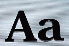 3D Einzelbuchstaben Aluverbund schwarz 3mm Werbung Buchstaben