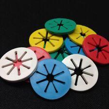 1 Pack Colorful Holder Sorters Ring Clips Random Sock Locks Laundry 7Pcs