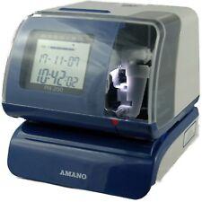 Amano PIX 200 Stempeluhr für Auftragserfassung mit eingebautem DCF 77