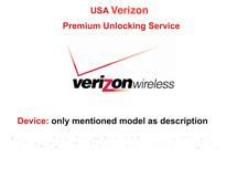 US Verizon 100% Official Premium Unlocking Service iPhone all status