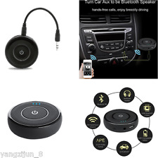 Mini Bluetooth Adapter 3.5mm AUX Audio Receiver For Subwoofer Speaker Wireless