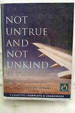 Not Untrue and Not Unkind by Ed O'Loughlin: Unabridged Cassette Audiobook (N1)