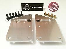 SR Billet Engine Swap Bracket SBC LS Conversion Motor Mount Plate LS1 LS6 LS2
