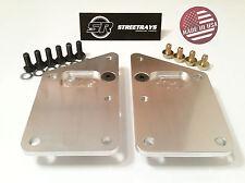 SR Engine Mount Adapter Plates LS1 LSX Swap Blazer El Camino C10 Nova Impala SBC