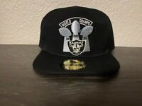 RAIDERS Las Vegas Oakland Los Angeles 3X Super Bowl Champs Snapback Cap Hat NEW
