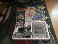 Consola Super Nintendo PAL con Caja e Instrucciones