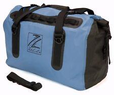 Waterproof Motorcycle Luggage Roll Top Dry Bag Seat Tail Rack Pack 60L Blue/Blk