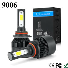 2X CREE 9006 LED Headlight Kit 1020W 153000LM 6500K High-Low Beam Bulbs Lamp USA