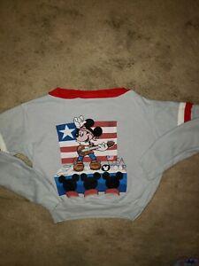Vintage 80s Disney's Mickey USA Tour Boys Shirt