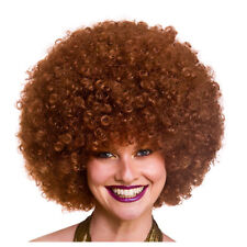 Giant Mega Huge Big Afro Wigs Fancy Dress 1970s Adults Mens Ladies Wigs