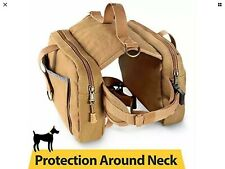 Dog Hiking Gear Camping Outdoor Wild Travel Bag Backpack Vest With Pockets Pack