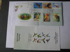 India 2016 First Day Cover on Exotic Birds - Limited Edition with brochure