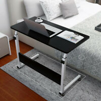 Simple Folding Lazy Bedside Laptop Desk Coffee Table Home Mobile Small Black US