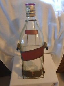 Johnnie Walker 4.5L Scotch Bottle with Cradle - Vintage 1990s