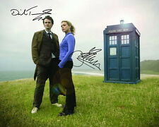David Tennant Dr. Who Signed 8X10 Photo Rp Auto Billie Piper Rose Tyler Offer