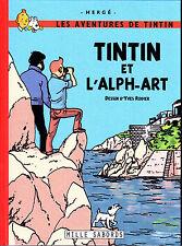 HOMMAGE A HERGE TINTIN ALPH ART RODIER + REPORTER PIGISTE + LAC DE LA SORCIERE