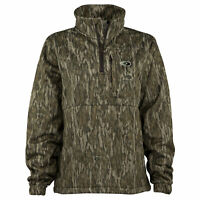 Mossy Oak Women's Camo Performance 1/4 Zip Jacket, Camo Pullover for Women
