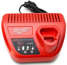 Ladegerät Milwaukee C12 C  12 V für 2.0, 4.0, 6.0 M12 Akku