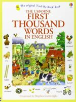 First Thousand Words in English (Usborne First Thousand Words) by Heather Amery,