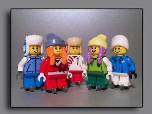 Lego Figuren Minifiguren - City - Winter Schlittschuh Schlittschuhläufer