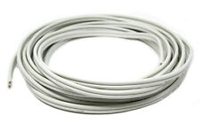 25'FT 12 Gauge White Marine Wire Tin Copper Plated OFC Speaker Cable 2 Conductor