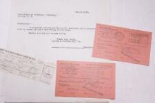 1930 Lamson Goodnow IRS MA and NY Tax Letters Registered Postal Ephemera P424E