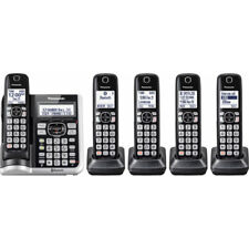 Panasonic Link2Cell Bluetooth Cordless Phone with 5 Handsets & Answering Machine