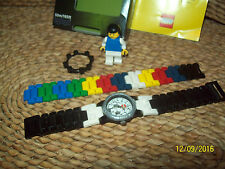 """LEGO SOCCER WATCH"" PLUS MINIFIGURE - 2007 - RARE - WATER DEPTH 50M/165FT"