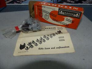MARKLIN -0225- Arredo interno  per sole Vetture DB- M&B-Anno 1964-