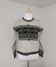 Dale Of Norway Medium Sweater Pullover 100% Wool   Nordic