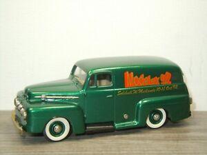 1952 Ford F1 Panel Van Modelex 92 - Brooklin Models 42 - 1:43 England *52432
