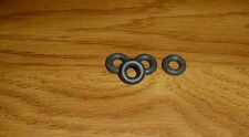 CRESCENT  RACE CARS  4 NEW 19MM SMOOTH BLACK  RUBBER  TIRES FIT MERC, ASTON ETC.
