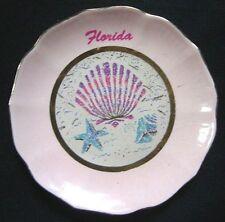 NEW Florida Multi-Color Shell Design Decorative Plate Wavy Brim Home Decor
